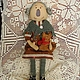Коллекционные куклы ручной работы. Ярмарка Мастеров - ручная работа. Купить Интерьерная кукла Тётя Трот и кошка. Handmade. Кошка