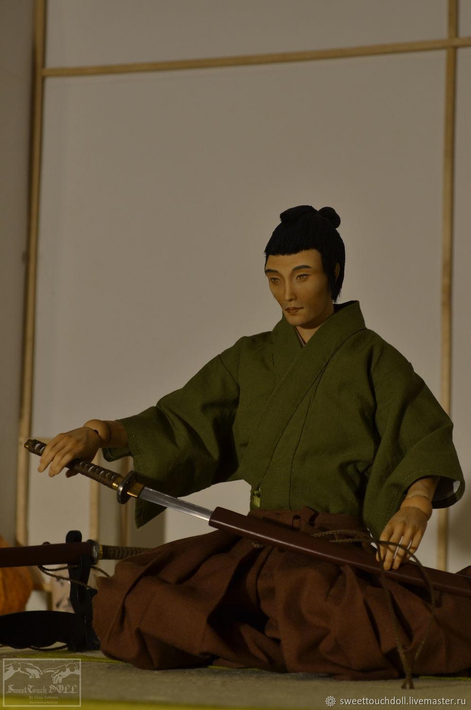Самурай Юичи #2, Шарнирная кукла, Подольск,  Фото №1