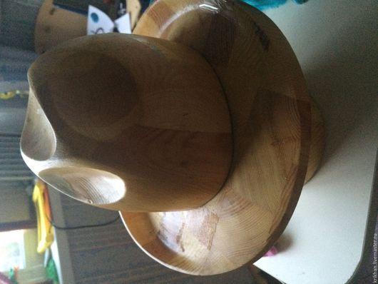 Элементы интерьера ручной работы. Ярмарка Мастеров - ручная работа. Купить Болванка для шляпы феодора. Handmade. Болванка, шляпа, дерево