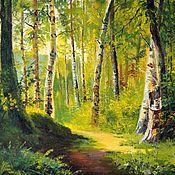 Картины и панно handmade. Livemaster - original item 27 oil Painting Pahar will be Released in Rosu Vladimir Chernov. Handmade.