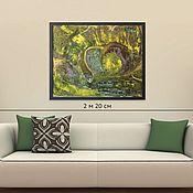 Картины и панно handmade. Livemaster - original item Oil painting large interior, buy in Minsk, 85H70. Handmade.