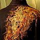 """Верхняя одежда ручной работы. Пальто """"Золото на черном"""". ElKo (Элла Ковалева). Ярмарка Мастеров. Осеннее пальто"""