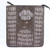 Сумки и аксессуары handmade. Livemaster - original item Textured leather bag crocodile IMA0644K1. Handmade.
