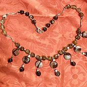 handmade. Livemaster - original item Beads: chocolate mousse. Handmade.