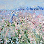 Картины и панно handmade. Livemaster - original item Oil painting Landscape Inspiration. Handmade.
