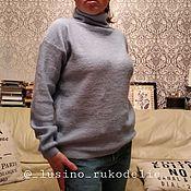 Джемперы ручной работы. Ярмарка Мастеров - ручная работа Свитер женский из мохера. Handmade.