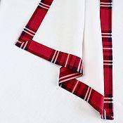 Подарки к праздникам handmade. Livemaster - original item Cloth under hot with Kant
