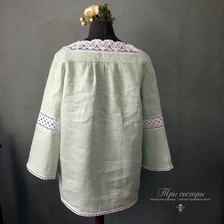 Мятная блузка в москве