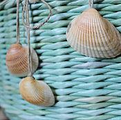"""Корзины ручной работы. Ярмарка Мастеров - ручная работа Корзина плетеная """"Море..."""". Handmade."""