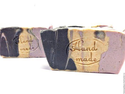 """Мыло ручной работы. Ярмарка Мастеров - ручная работа. Купить """"Вечер в Венеции"""" натуральное мыло ручной работы с шелком. Handmade."""