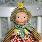 Куклы и игрушки ручной работы. Ярмарка Мастеров - ручная работа Гномочка Флора - кукла игровая ручной работы в вальдорфском стиле. Handmade.