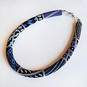 Украшения handmade. Livemaster - original item harness bead Blackened silver. Handmade.
