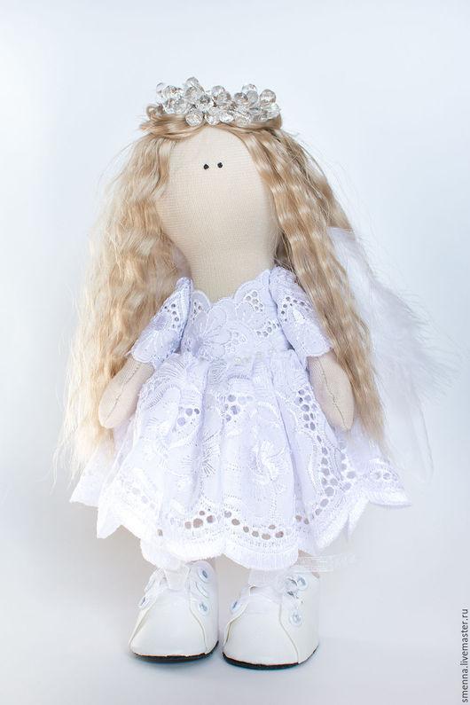 Коллекционные куклы ручной работы. Ярмарка Мастеров - ручная работа. Купить Интерьерная кукла - ангел ручной работы. Handmade. шитьё