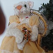 Куклы и игрушки ручной работы. Ярмарка Мастеров - ручная работа Кошечка Марыся  Мурковна. Handmade.