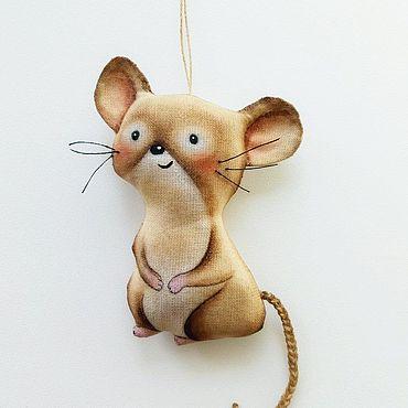 Куклы и игрушки ручной работы. Ярмарка Мастеров - ручная работа Мышка Крыска. Handmade.