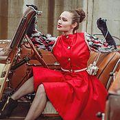 """Одежда ручной работы. Ярмарка Мастеров - ручная работа Пальто"""" Flamy Ire"""". Handmade."""