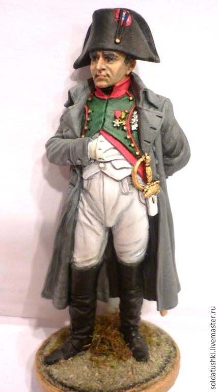 Миниатюрные модели ручной работы. Ярмарка Мастеров - ручная работа. Купить Наполеон I Бонапарт. Handmade. Солдатик, олово