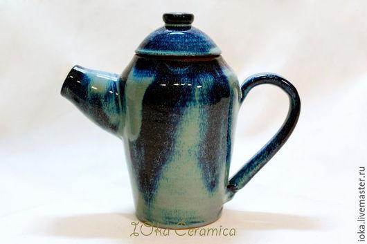 Чайники, кофейники ручной работы. Ярмарка Мастеров - ручная работа. Купить Кофейник. Handmade. Тёмно-синий, ночь, космос, звезды