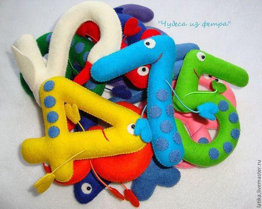 Развивающие игрушки ручной работы. Ярмарка Мастеров - ручная работа. Купить Цифры для малыша (решаем задачки). Handmade. Цифры, вычитание