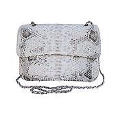 Сумки и аксессуары handmade. Livemaster - original item Handbag made of Python ELENA XL. Handmade.