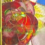 Для дома и интерьера ручной работы. Ярмарка Мастеров - ручная работа Розы-витраж в перегородку. Handmade.