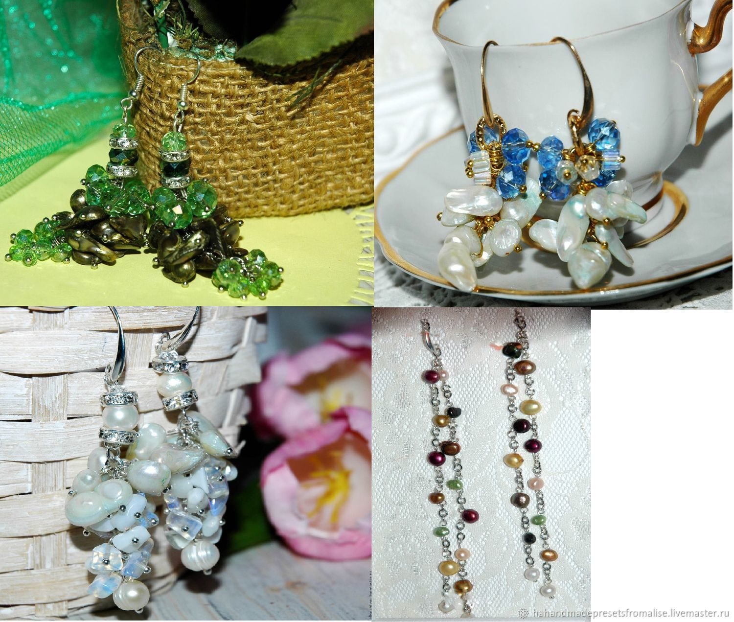 Earrings classic: Earrings with pearls! Promotion! all for 500 rubles, Earrings, Simferopol,  Фото №1