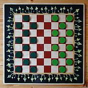 Сувениры и подарки ручной работы. Ярмарка Мастеров - ручная работа Игра в шашки