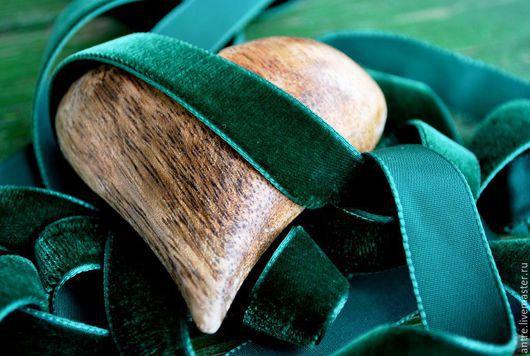 """Шитье ручной работы. Ярмарка Мастеров - ручная работа. Купить Бархатная лента """"Летняя зелень"""" (Швеция). Handmade. Лента"""