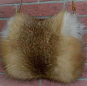 Муфты ручной работы. Ярмарка Мастеров - ручная работа Муфта из меха рыжей лисы. Handmade.