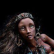 """Куклы и игрушки ручной работы. Ярмарка Мастеров - ручная работа Фарфоровая шарнирная кукла Иман из коллекции """"Timeless treasures"""". Handmade."""