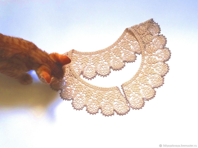 collar,collar buy, collar, knitted, collar, handmade collar, fishnet, collar, crochet collar lace, beige, white, cream.