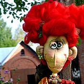 Куклы и игрушки ручной работы. Ярмарка Мастеров - ручная работа Мадам Ку - ку и осень..... Handmade.
