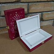 Для дома и интерьера handmade. Livemaster - original item Box Tulip. Handmade.