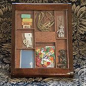 Для дома и интерьера ручной работы. Ярмарка Мастеров - ручная работа Витрина-шкатулка. Handmade.