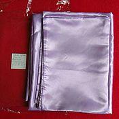 Для дома и интерьера handmade. Livemaster - original item Bed sheet 220x240, 2 pillowcases.Turkish silk. Handmade.