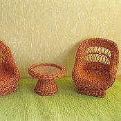 """Куклы и игрушки ручной работы. Ярмарка Мастеров - ручная работа Комплект мебели """"Дачный уют"""". Handmade."""