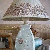 Для дома и интерьера handmade. Livemaster - original item Blue lagoon lamp