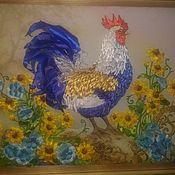 Картины ручной работы. Ярмарка Мастеров - ручная работа Петушок. Handmade.
