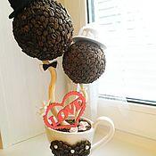 """Цветы и флористика ручной работы. Ярмарка Мастеров - ручная работа Кофейное деревце """"Любовь +""""!!!. Handmade."""