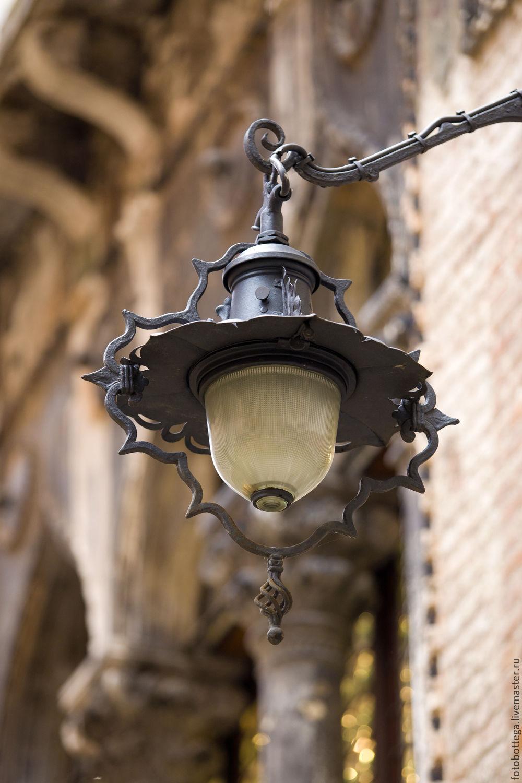 Фотокартина  Венецианский фонарь,  Венеция Италия, Фотокартины, Москва,  Фото №1