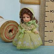 Куклы и игрушки ручной работы. Ярмарка Мастеров - ручная работа Кукла для куклы миниатюрная  3,5см.. Handmade.