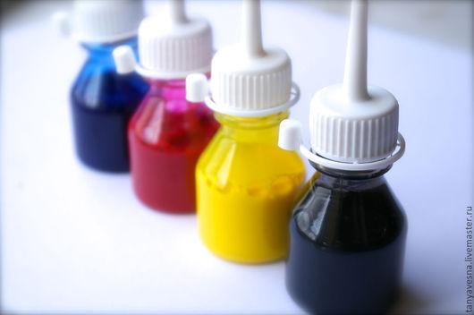 черный, желтковый, рубин, синий