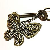 Аксессуары handmade. Livemaster - original item Butterfly key chain for handbag. Handmade.