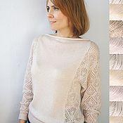 Одежда handmade. Livemaster - original item pullover pearl dust. Handmade.