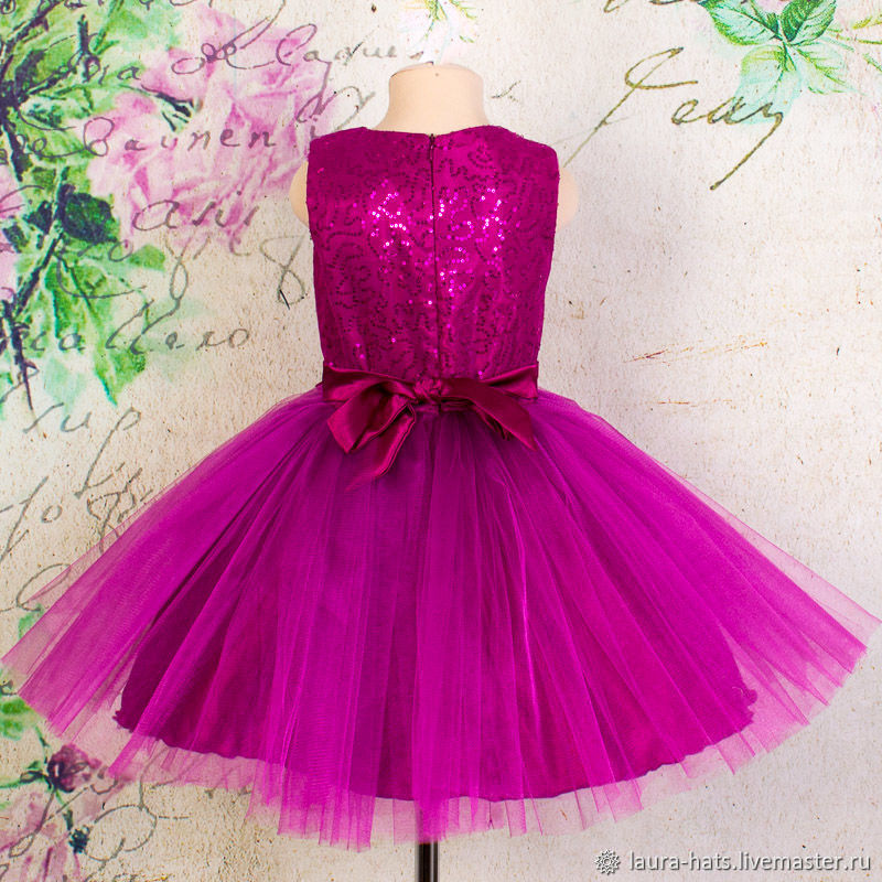 Нарядное детское платье для девочки Детское нарядное платье