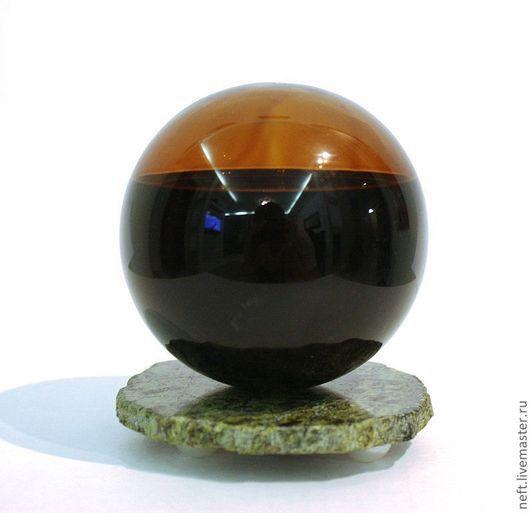 Яйца ручной работы. Ярмарка Мастеров - ручная работа. Купить Шар с нефтью. Handmade. Черный, стекло, нефтяник, камень, змеевик