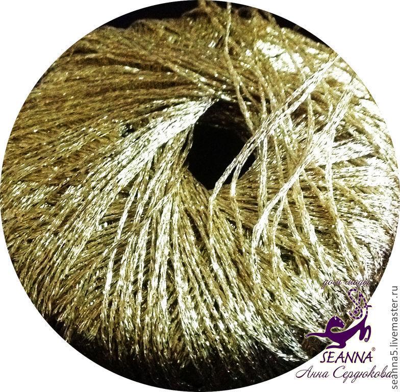 Купить золотую нить для вышивки