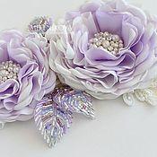 """Платья ручной работы. Ярмарка Мастеров - ручная работа Пояс для свадебного платья """"Violet"""". Handmade."""