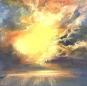 Картины и панно ручной работы. Ярмарка Мастеров - ручная работа Небо. Handmade.