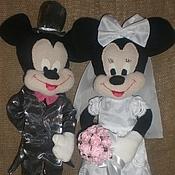 Свадебный салон handmade. Livemaster - original item Mickey and Minnie Wedding. Handmade.